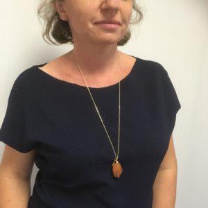 Amélie ambrée porté
