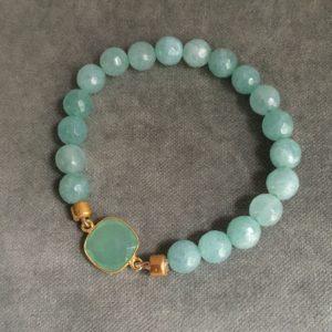 Alexandrine Calcedoine Acqua et jade